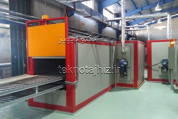 تولید کننده کوره باکسی پخت ظروف تفلون تکنو تجهیز