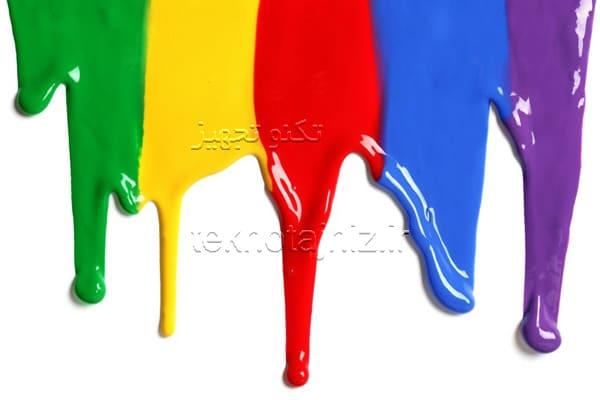 انواع رنگ های روغنی