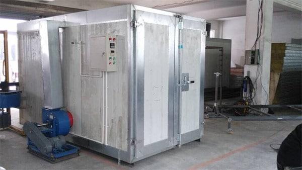 تولید کننده کوره پخت رنگ کوره ای با درجه حرارت بالا