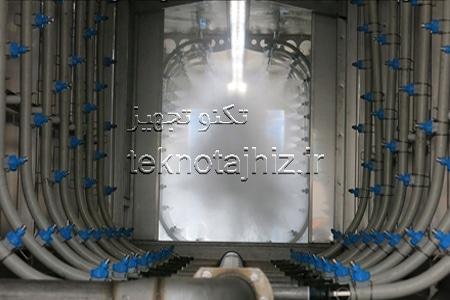 تولید کننده تجهیزات سیستم های شستشو به روش اسپری در خط رنگ پودری