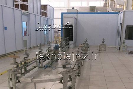 طراحی تولید و نصب کانوایر زمینی