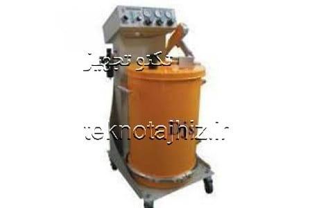دستگاه رنگپاش پودری الکترواستاتیک djs
