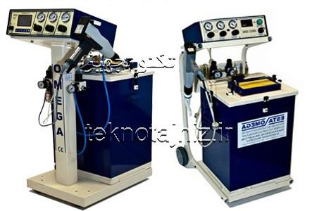 دستگاه پاشش رنگ پودری امگا OMEGA فروش سایر برندهای رنگپاش پودری الکترواستاتیک