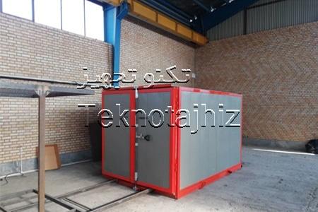 کوره پخت رنگ تکنو تجهیز تولید کننده انواع دستگاه و اتاق پخت رنگ