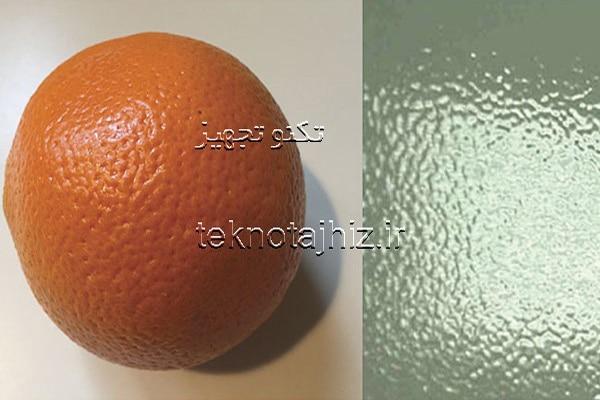 پدیده پوست پرتقالی شدن در حین فرایند پوشش های پودری