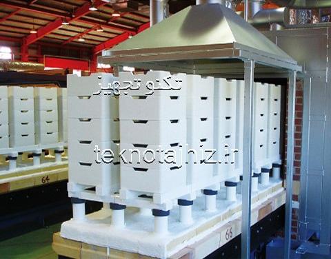تولید کننده کوره های تونلی مخصول سفال و سرامیک