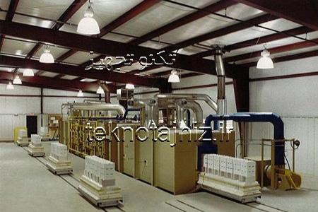 مشخصات کوره های تونلی در صنایع پخت سفال و سرامیک