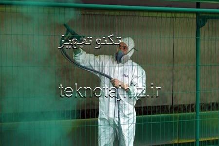 تولید تجهیزات رنگ و پوشش های پودری الکترواستاتیک