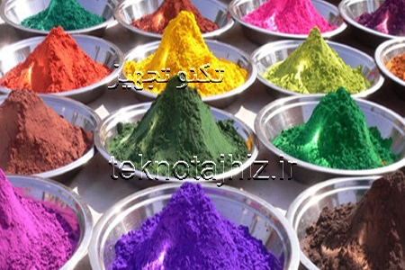 رنگ پودری ضد خراش پوشش های پودری ضد خراشیدگی