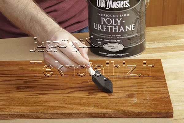 رنگ ها و پوشش های پلی اورتان برای رنگ آمیز چوب