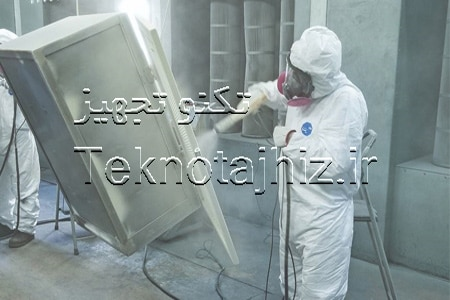 ایمنی کار هنگام اجرای رنگ پودری الکترواستاتیک