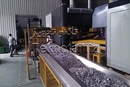 تولید کننده تجهیزات آبکاری و پوشش داکرومات و کوره های داکرومات