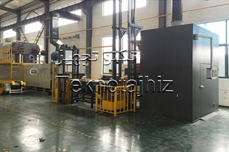 طراحی و راه اندازی خط تولید پوشش داکرومات تولید کننده کوره پیوسته داکرومات