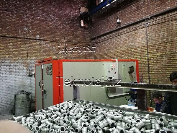 تولید کوره های باکس داکرومات طراحی و راه اندازی کوره داکرومات