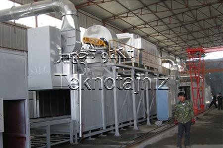 تولید کننده کوره و تجهیزات خط کامل داکرومات گروه صنعتی تکنو تجهیز