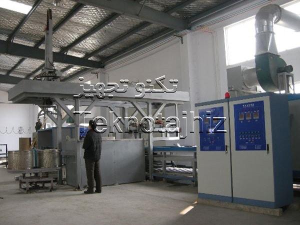 گروه صنعتی تکنوتجهیز تولید کننده کوره داکرومات و تجهیزات خط داکرومات