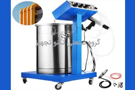 راهنمای نصب و راه اندازی رنگپاش پودری الکترواستاتیک، فروش دستگاه پاشش رنگ پودری